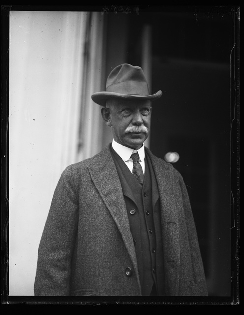 Samuel J. Prescott, name figured in on telegram sent by Pres. Coolidge to Edward McLean. At the W.H. [i.e., White House] March 7