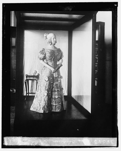 Sara Childress Polk [inaugural dress from First Ladies Collection], 9/3/[24]