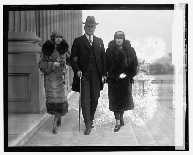 Sen. R.N. Stansfield with wife and daughter Barbara, [12/1/24]