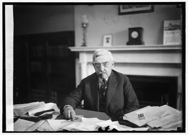 Senator Wm. M. Butler of Mass., [11/28/24]