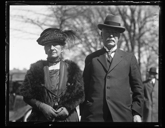 Sir George Fenwick and Lady Fenwick of Dunedin, New Zealand
