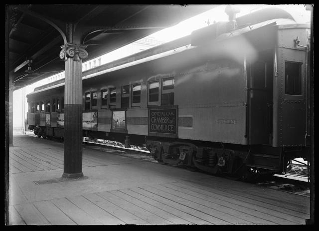 Special train for visiting realtors