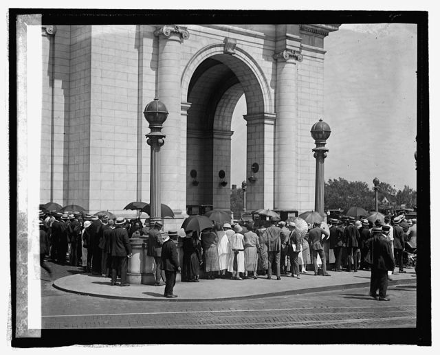 Waiting at Union Station for Prince of Wales, [8/30/24]