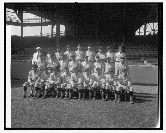 Wash. Base Ball Club, 1924