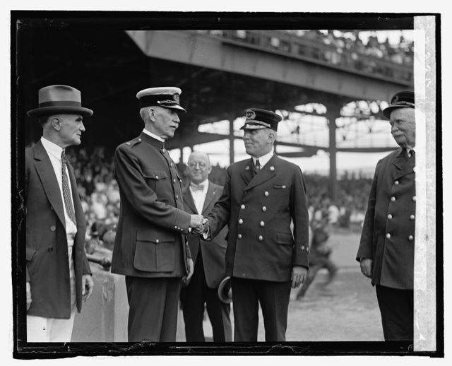 Watson & Sullivan at Police Fireman's ball game, [9/13/24]