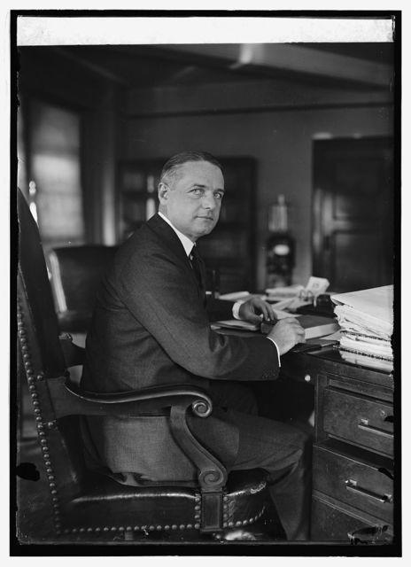 Wm. J. Donovan, Ass't. Attorney Gen., [8/15/24]
