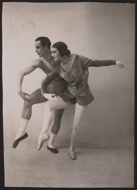 Photograph of Anatole Vilzak and Vera Nimchinova in Les Biches, 1924, no photographer
