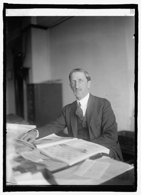 Alfred P. Dennis of Tariff Commission