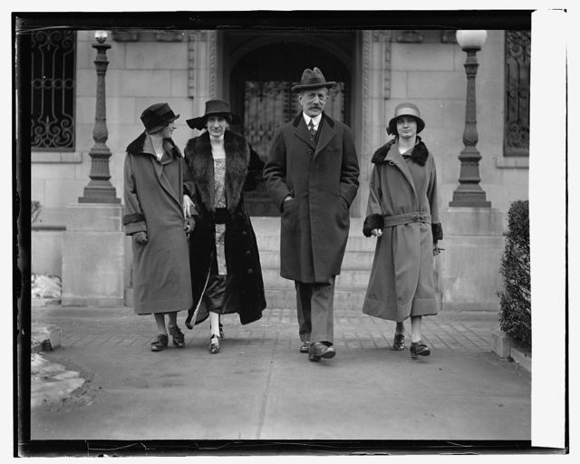 Ambassador Daeschner with wife and daughters, [1/26/25]
