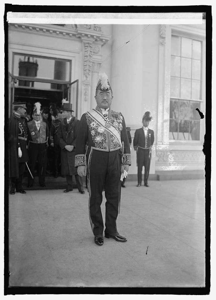 Ambassador Matsudaira at W.H. i.e., White House, Washington, D.C., 31625
