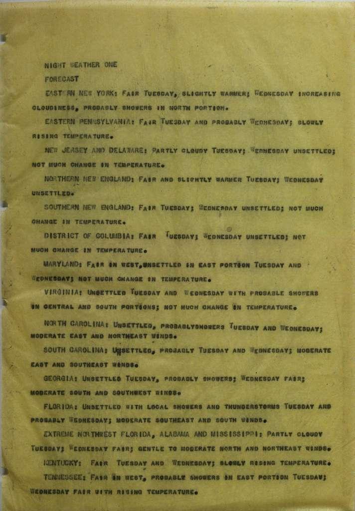 Associated Press, Washington, D.C., Bureau News Dispatches: 1925, May 16-31