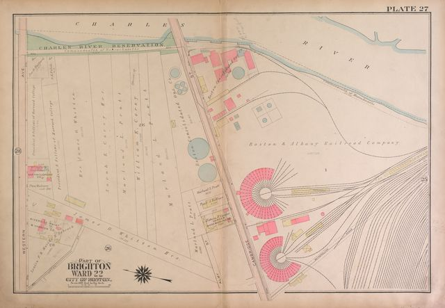 Atlas of the city of Boston, Brighton : from actual surveys and official plans /