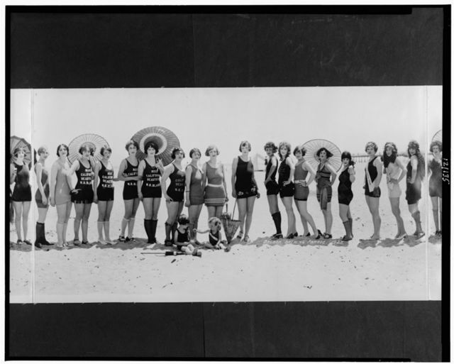 Balboa Bathing Parade, 1925