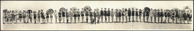 Balboa Beach Bathing Beauty Parade, 1925
