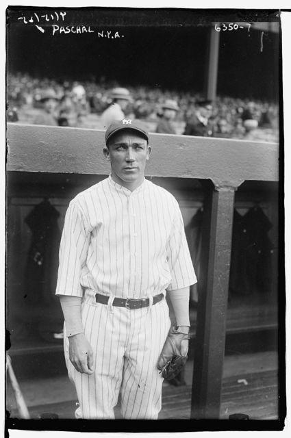 [Ben Paschal, New York AL (baseball)]