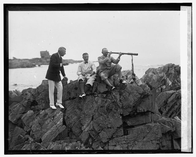 Booth Tarkington, Kenneth M. Roberts & Atwater Kent, [8/11/25]