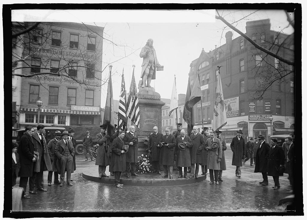 Commissioner Rudolph at 219 ann. of birth of Ben Franklin (Sons of Revolution), [1/17/25]