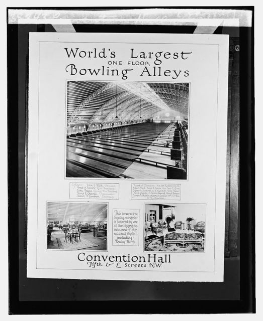 Convention Hall alleys (layout)