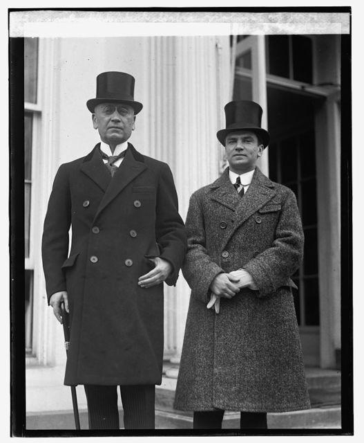 Dr. Ante Tresich Parrchich and Zlacke Baklekovich, Serbian violinist at W.H., [2/6/25]