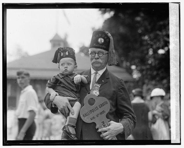 Edward Schmidt & grandson