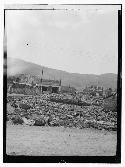 Flood-war damage