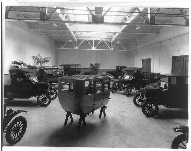 Ford Motor Co. Ford display room