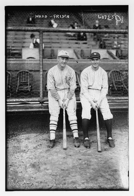 [Frankie Frisch, New York NL & Aaron Ward, New York AL (baseball)]
