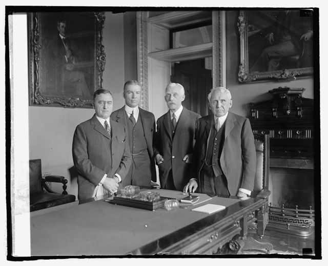 G.B. Winston, Eliot Wadsworth, Mellon & Kellog, [3/25/25]