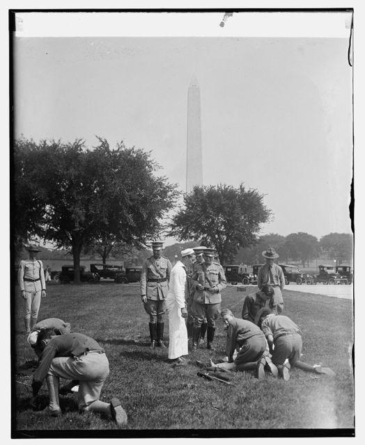 Gen. Lejeune with Virginia boy scouts, [9/4/25]