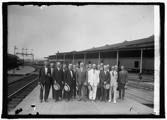 Gen. Pershing and aides leaving for South America, [7/17/25]