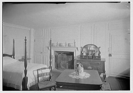 G.H. Buek, residence in East Hampton. Bedroom
