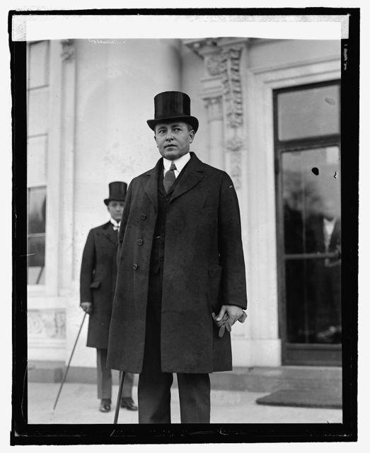 Hon. Lewis Bogran, Minister from Honduras, [3/9/25]