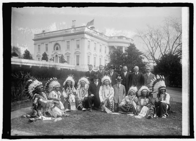Indian Republican Club, Sioux Indians of Rosebud Reservation, S.D.