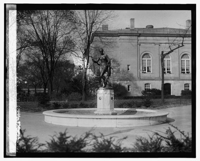 J.J. Darlington statue in Judiciary Square