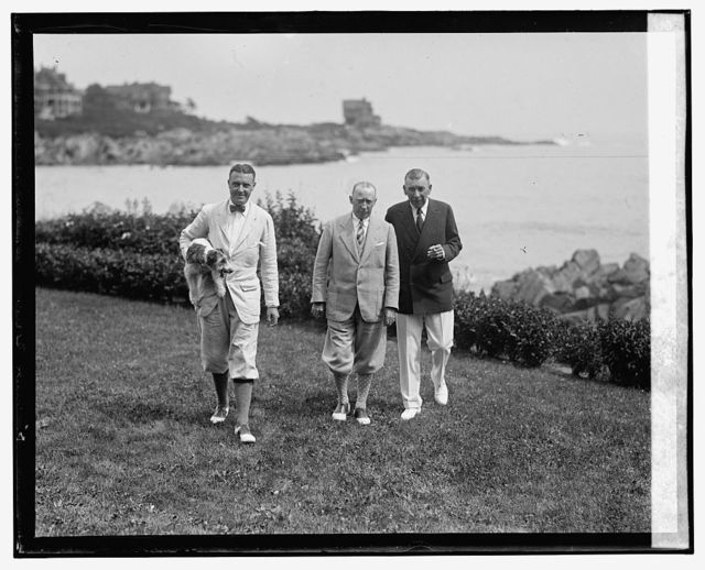 Kenneth M. Roberts, Atwater Kent & Booth Tarkington, [8/11/25]