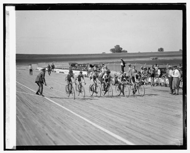 Laurel bicycle races, [7/18/25]