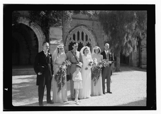 M. Eric Matson, Jerusalem, Matson wedding, Cpl [?]