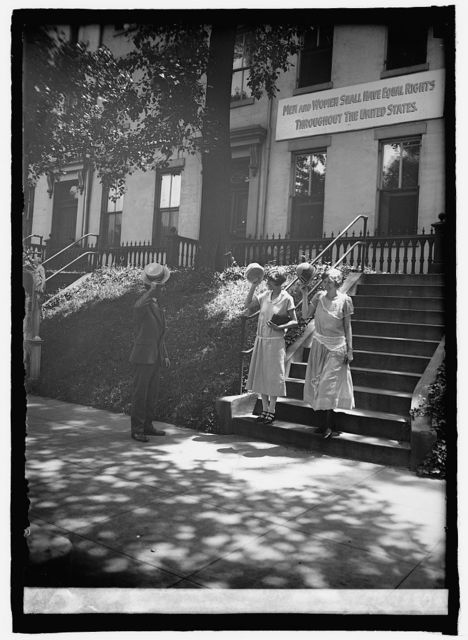 Miss M.V. Roehrer & Miss S.L. Anderson of Nat'l Woman's Party, [6/26/25]