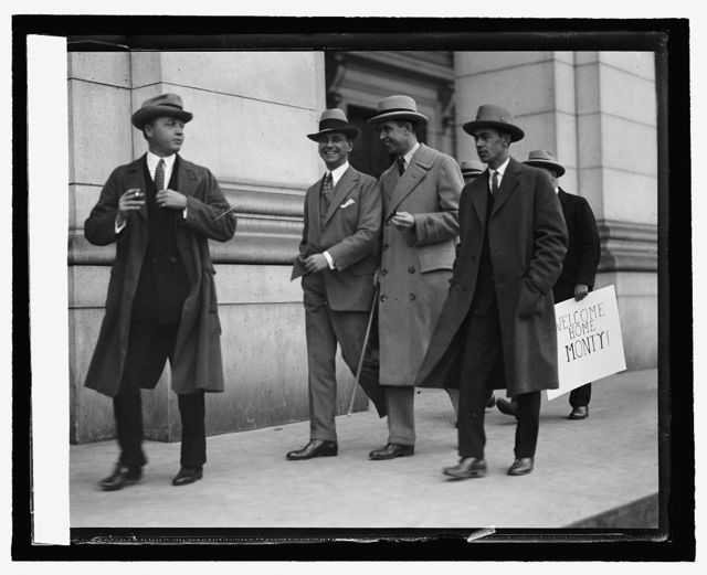 Monty Bell and friends at Union Station, [10/8/25]