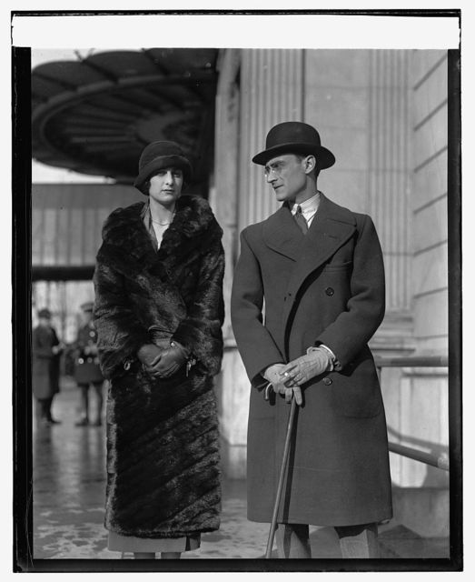 Mr. & Mrs. Luciano Mascia of Italian Embassy, [1/13/25]