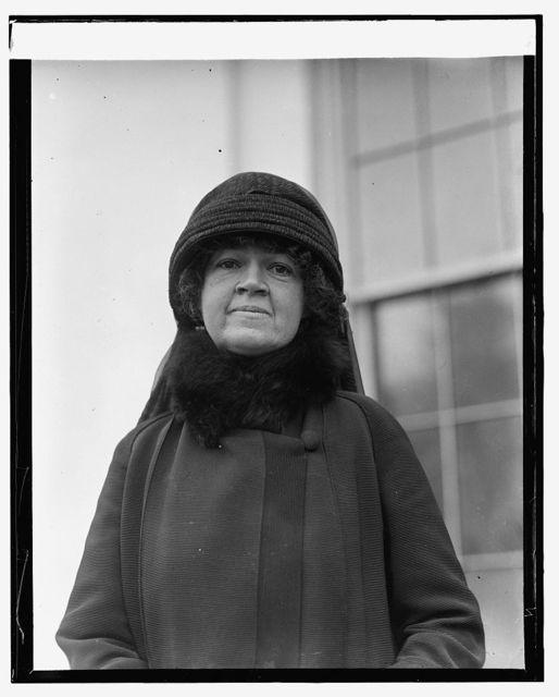 Mrs. John Jacob Rogers, [11/9/25]