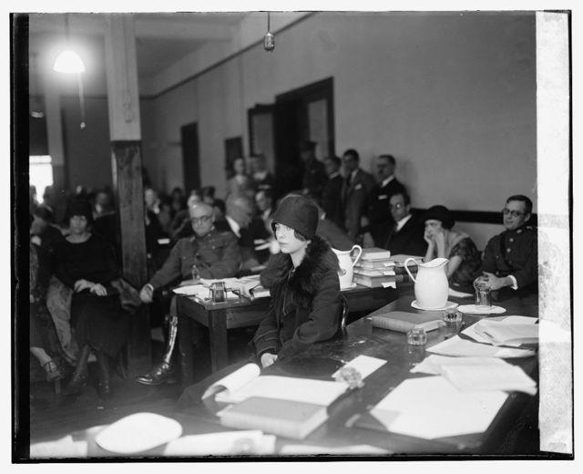 Mrs. Zachary Lansdowne before Mitchell Court, [11/12/25]