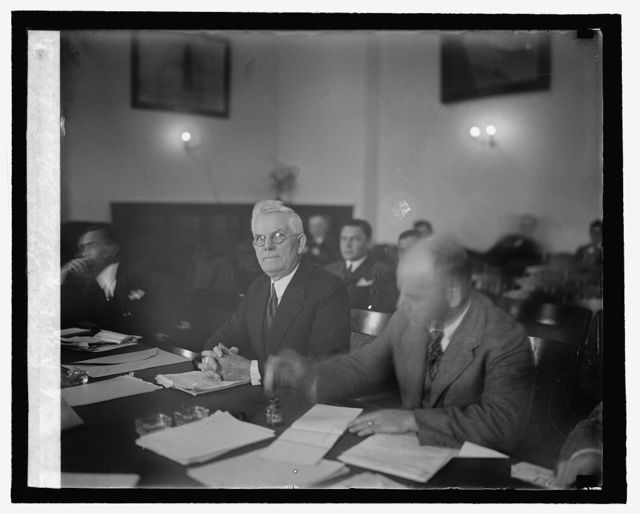 Rep. M.B. Madden before Special Aviation Board, [10/25]