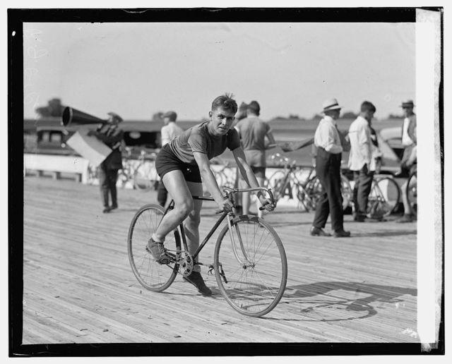 R.J. O'Conner, Laurel bicycle races, [7/18/25]