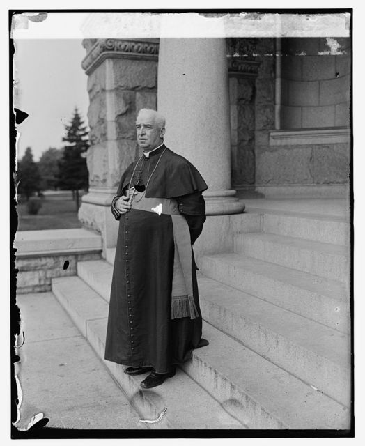 Rt. Rev. Thos. J. Shahan, rector[?] of Cath. University, [9/9/25]