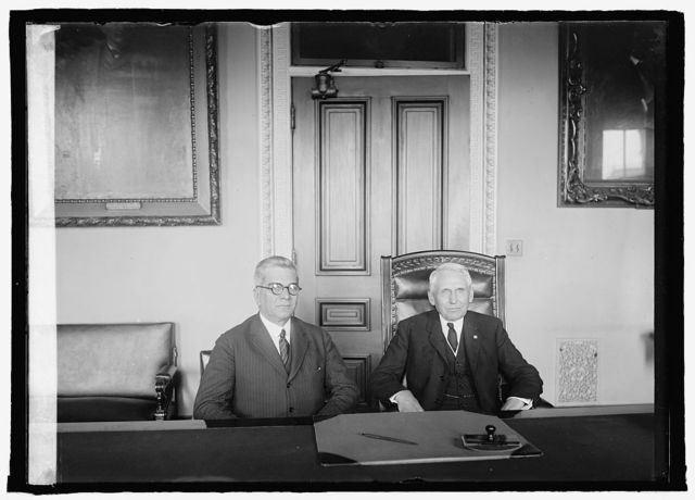 Senor Gerardo Machado and Sec. Kellogg, [4/15/25]