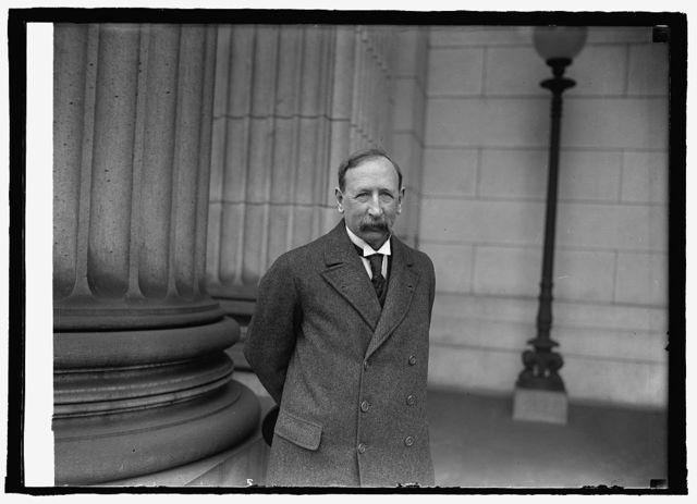 Sir David Hall, British Minister of Agriculture and Fisheries at Museum, [1/26/25]