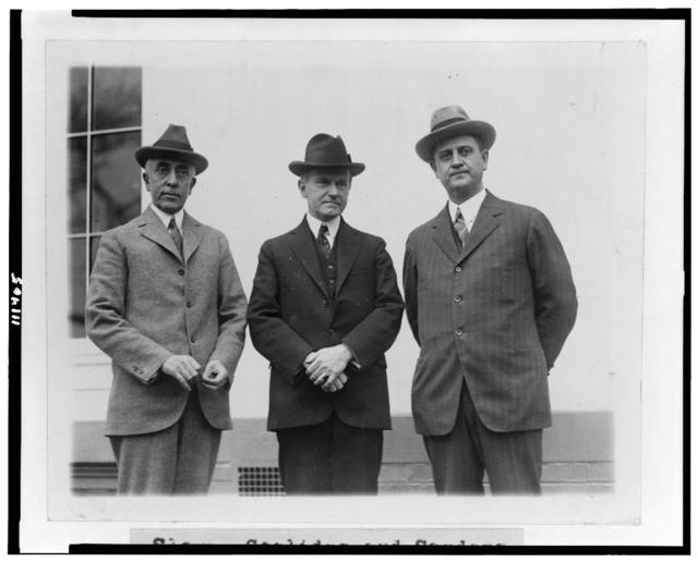 Slemp, Coolidge and Sanders