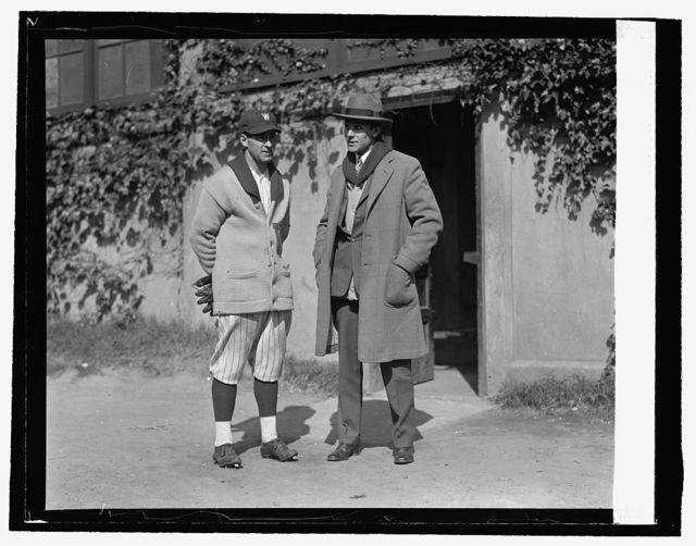 Stanley Harris & Bluege, [10/11/25]