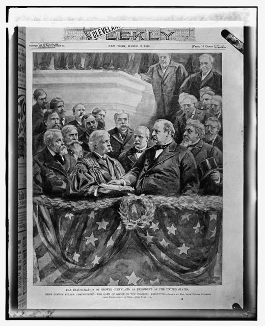 Swearing in of Cleveland